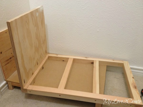 bench support sidetop in closet, My Love 2 Create on Remodelaholic