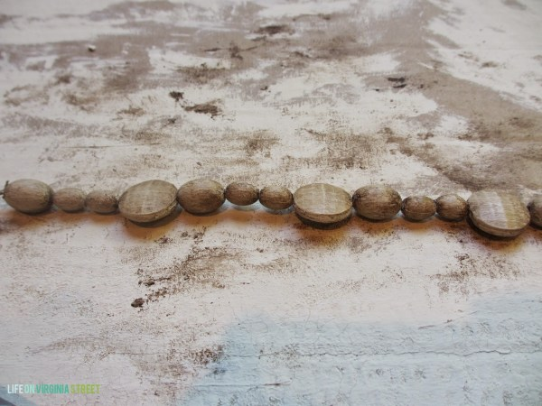 diy faux wood beads for chandelier, Life on Virginia Street on Remodelaholic