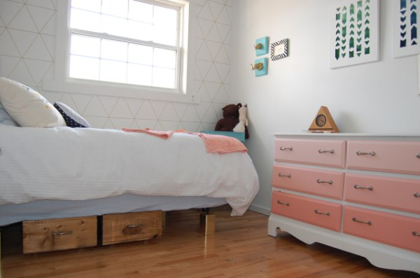 diy underbed storage for spare room, DIY Passion on Remodelaholic