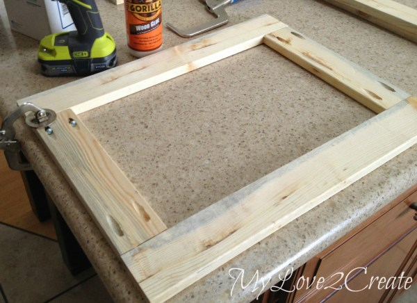 laundry hamper face frames for master closet, My Love 2 Create on Remodelaholic