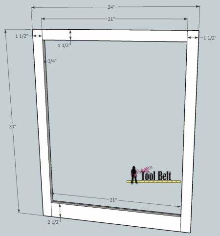media center building plans - cabinets 1, Her Tool Belt on Remodelaholic