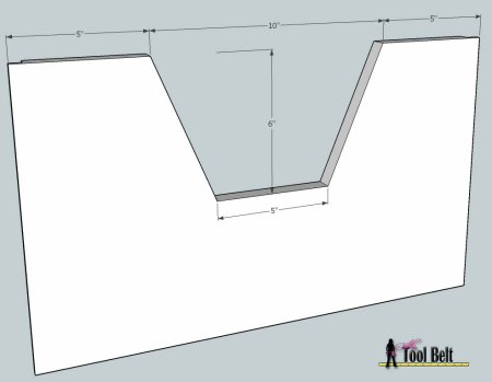 media center building plans - cabinets drawers 1, Her Tool Belt on Remodelaholic