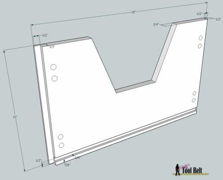 media center building plans - cabinets drawers 2, Her Tool Belt on Remodelaholic