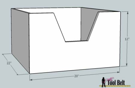 media center building plans - cabinets drawers 7, Her Tool Belt on Remodelaholic