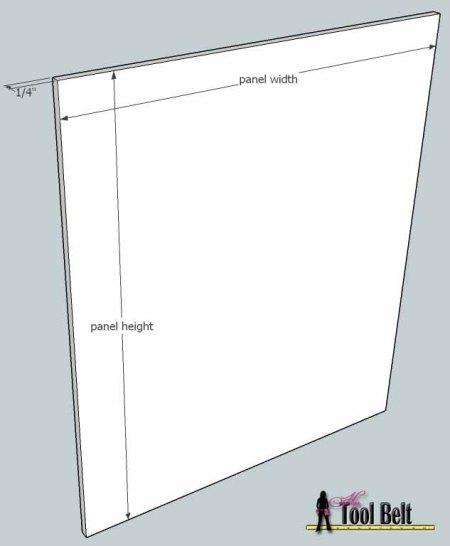 media center building plans - doors 4, Her Tool Belt on Remodelaholic