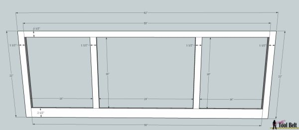 media center building plans - tv console 1, Her Tool Belt on Remodelaholic