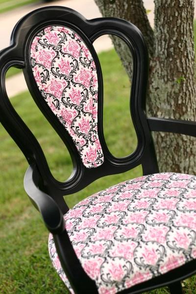 reupholster chair center