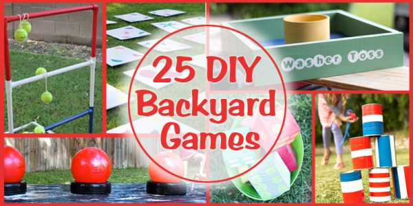 25 Backyard Games to Build/Make/DIY
