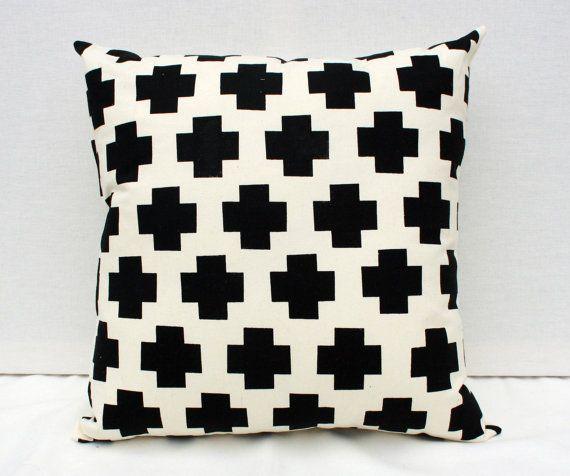 Black Pillow Etsy via Remodelaholic.com