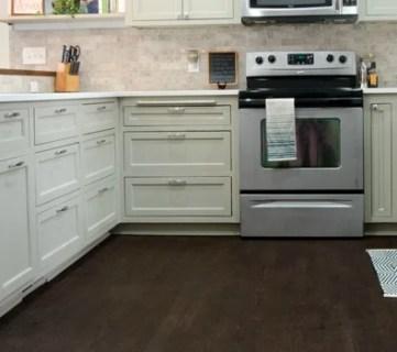 Remodeled Kitchen with Refinished Hardwood Floors