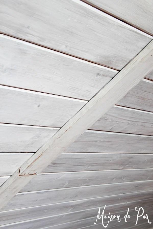 Verticle Shiplap Wall