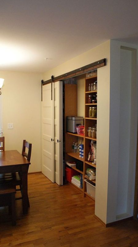 barn door pantry