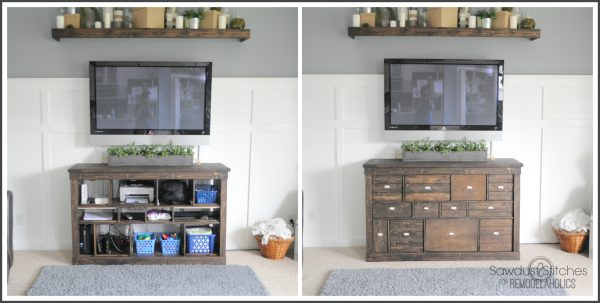 Clutter free  Remodelaholic.com