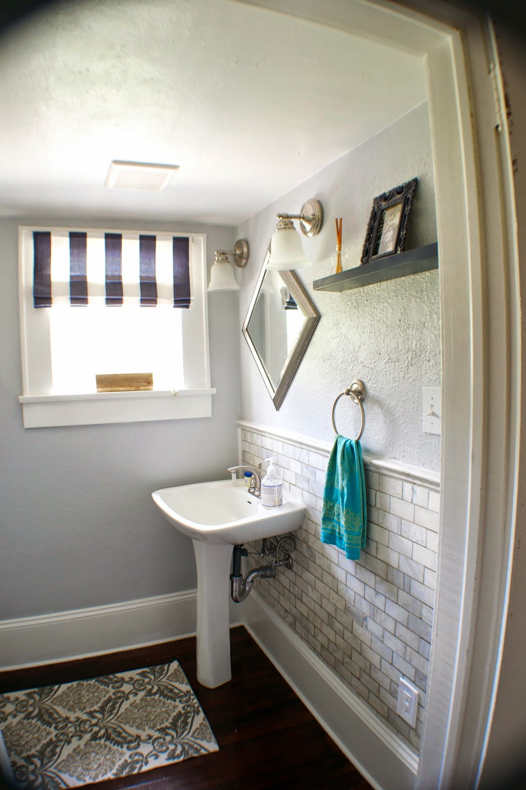complete bathroom remodel. Fine Remodel Complete Bathroom Remodel Seesaws And Sawhorses On Remodelaholic Throughout Complete Bathroom Remodel I