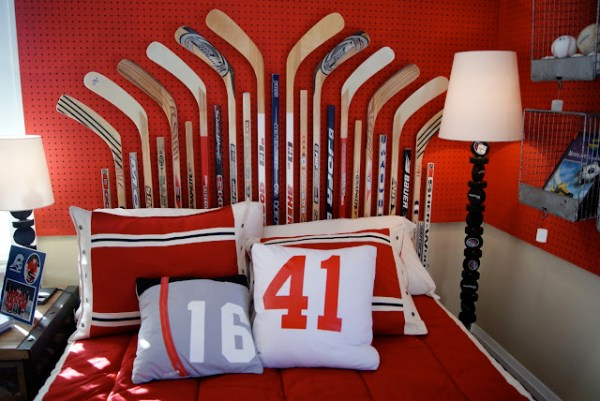 hockey-stick-headboard-