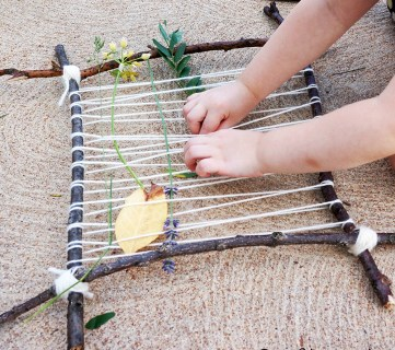 10 No-Fuss Camping Crafts for Kids - tipsaholic, #camping, #kids, #naturecrafts, #summer