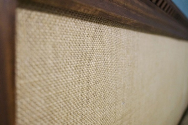 no tools required burlap easy headboard, Do Not Disturb This Groove on Remodelaholic