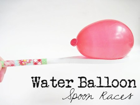 tipsaholic-water-balloon-spoon-race-two-shades-of-pink on Remodelaholic