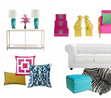 Decorating with BOLD Colors