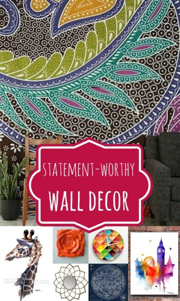 Wall Decor That Makes a Statement by Remodelaholic