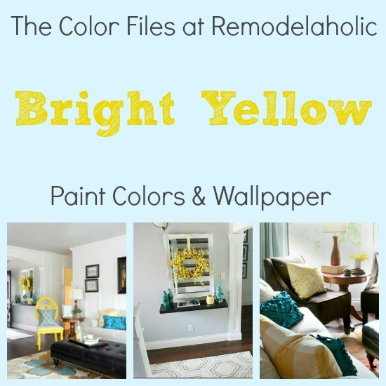 bright yellow paint colors