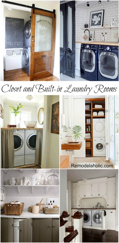 Closet Laundry Room Ideas