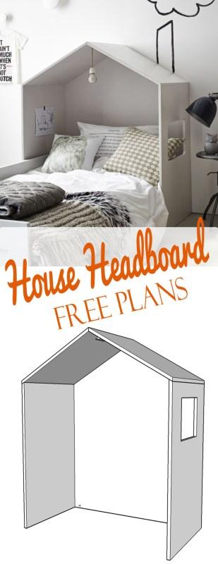 House headboard free plans