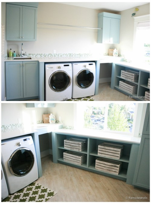 Large Open Laundry Room
