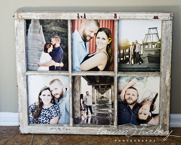 Remodelaholic 100 ways to use old windows for Using old windows as picture frames