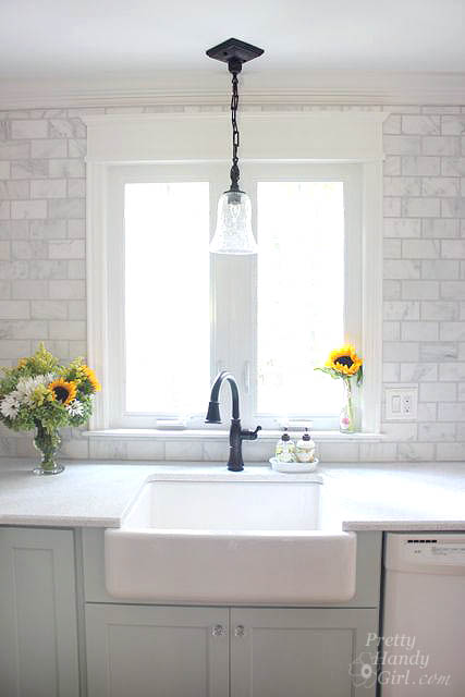 Pretty Handy Girl how to frame a casement hinged window via Remodelaholic