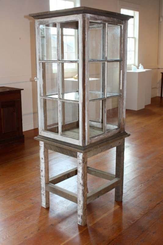 ReStore - old windows made into jewelry or curio case - via Remodelaholic