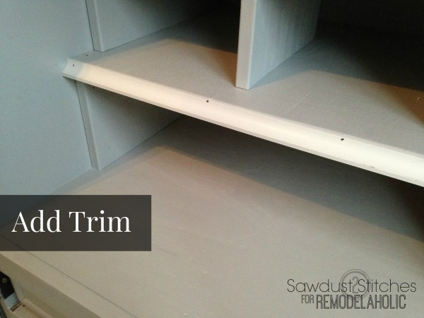 add trim remodelaholic