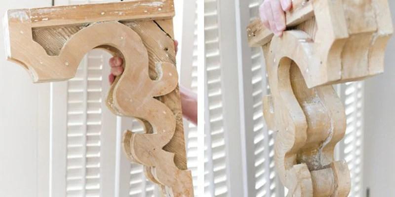remodel my kitchen distressed tables remodelaholic | diy vintage-inspired corbel building plan ...
