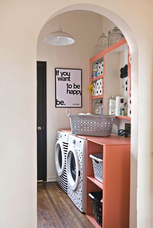 personalized laundry room