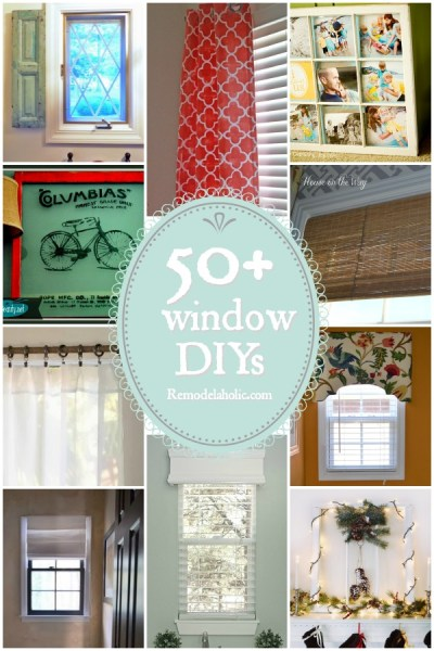 50+ DIY Window Projects via @Remodelaholic