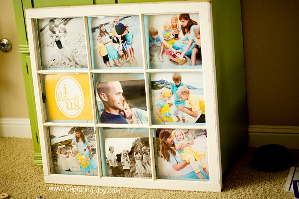 Capturing Joy Kristin Duke Photography - old window into photo frame