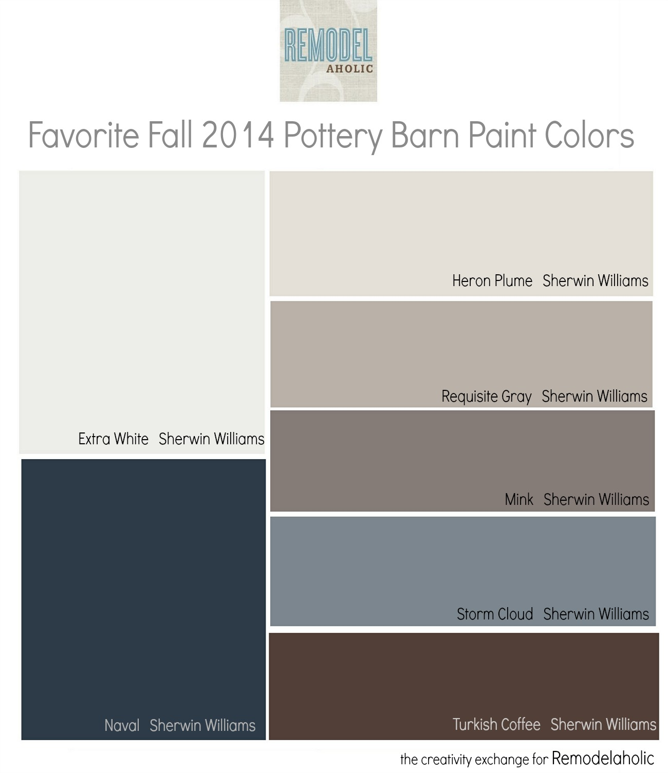 Remodelaholic Favorites From The Fall Pottery Barn Paint