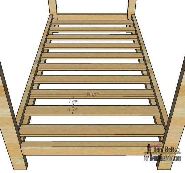 House Frame Bed bedslats