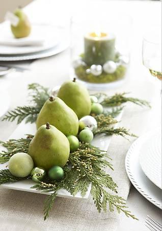 Pear centerpiece