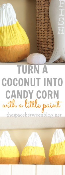 candy corn craft idea