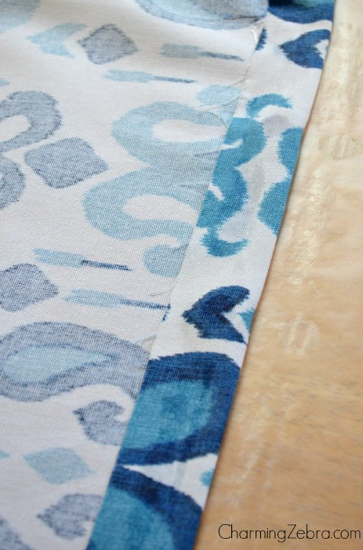 how to make a window blind for a metal door with window, Charming Zebra on Remodelaholic