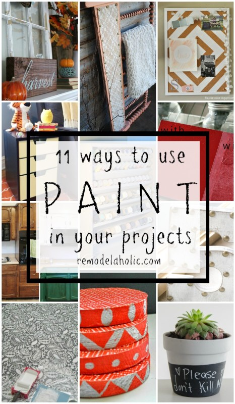DIY Updates Using Paint @Remodelaholic