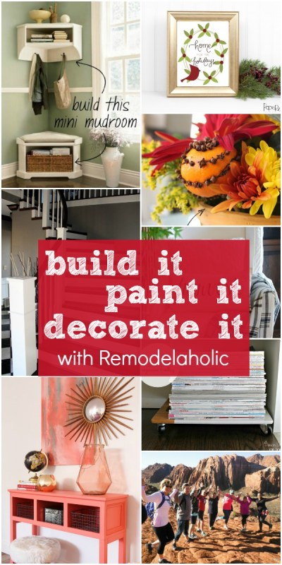 DIY Tutorials and Decorating Ideas from @Remodelaholic