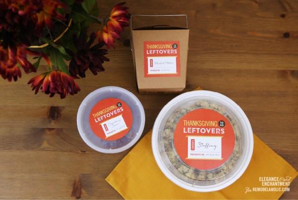 Thanksgiving Leftover Printables from Elegance & Enchantment for Remodelaholic