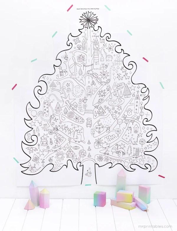 25 Free Colorful & Crafty Christmas Printables   Remodelaholic.com