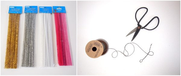 DIY Pipe Cleaner Himmeli Ornaments - The Learner Observer for Remodelaholic.com