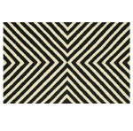 Winter Whites Geometric Rug