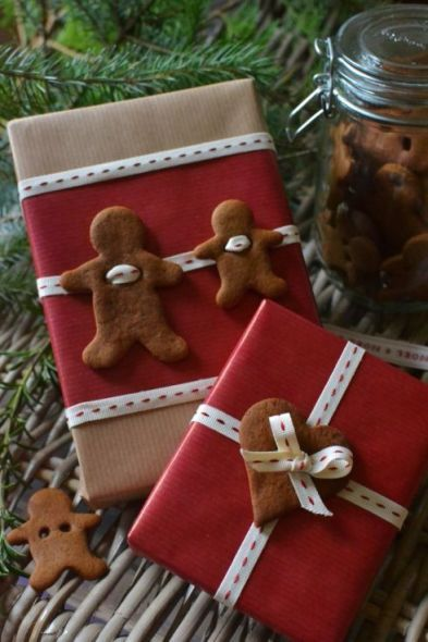 gingerbread gift tags