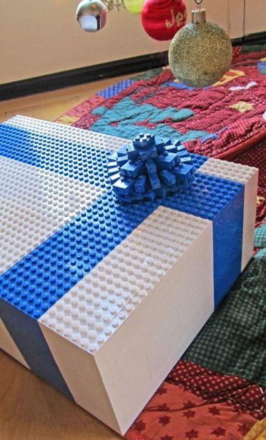 lego gift wrap