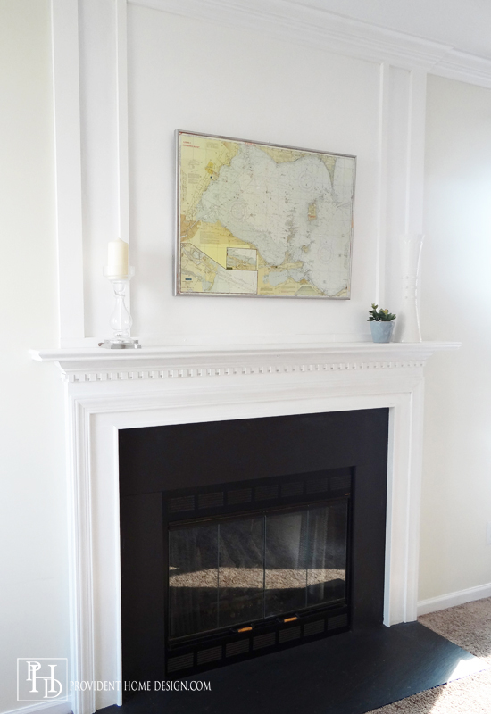 Fireplace Makeovers Updated